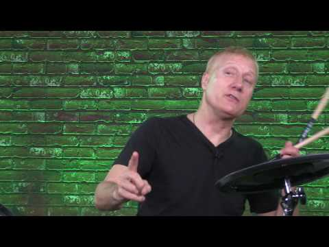 """V-Drums Lesson 61: Gregg Bissonette """"Groove and Solo Phrasing in ¾ Time"""""""