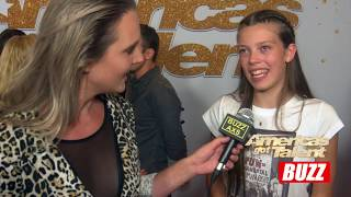Courtney Hadwin Talks About This Weeks Performance   AGT BACKSTAGE