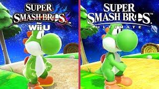 Super Smash Bros – Wii U vs. Switch Graphics Comparison