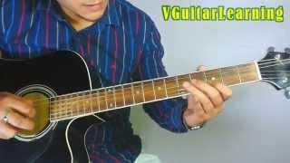 Aashiqui 2 | SUN RAHA HAI NA TU GUITAR LEAD LESSON | Ankit Tiwari Guitar TAB Tutorial