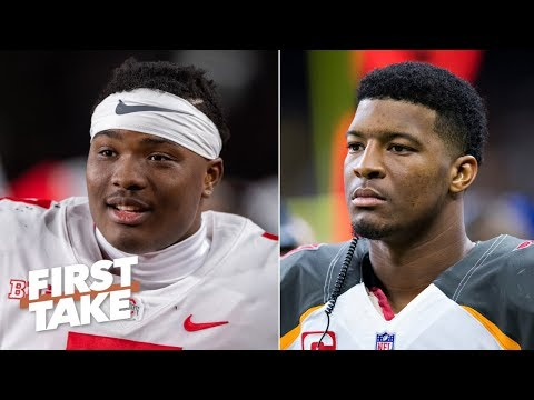 The Buccaneers should draft Dwayne Haskins to replace Jameis Winston – Stephen A. First Take