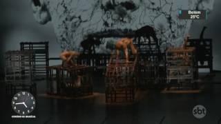 Abertura do Festival de Dança de Joinville emociona o público - SBT Notícias (21/07/17)