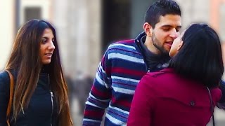 KISSING PRANK ♥ My Ex-Girlfriend