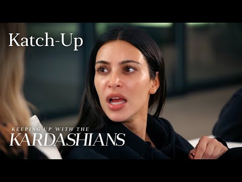 Keeping Up With the Kardashians Katch Up S13 EP.2 E