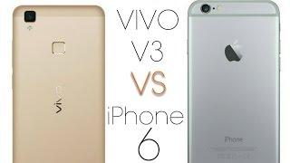 Vivo V3 vs iPhone 6(Massive Comparison)with specification