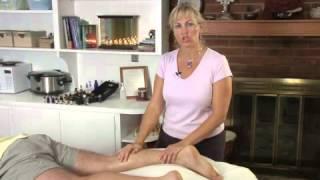Massaging Around Varicose Veins