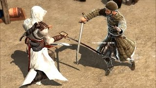 Assassin's Creed 1 Altair Legendary Assassin Combat & Free Roam