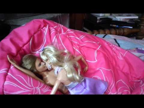 Ken @ Barbie first kiss