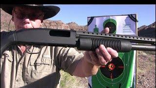 Mossberg 590 A1 - Big, Bad-Ass 12 Gauge Shotgun