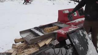 Re-Designed AutoSplit AS-630 Firewood Splitter by Automated Biomass Systems