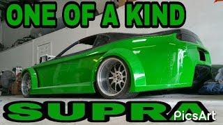 My Supra custom widebody project build 1500 hp crazy