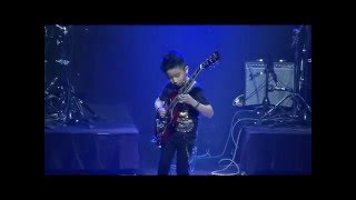 Jeremy Yong (9): Eruption, Paranoid, Final Countdown (rock medley) - young kid guitarist prodigy
