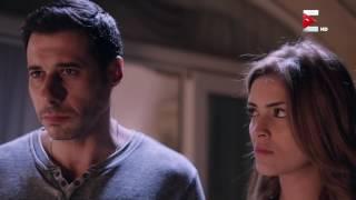مسلسل الكبريت الاحمر - لحظة حريق منزل الضابط معتز