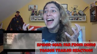 SPIDER-MAN: FAR FROM HOME Official Teaser Trailer REACTION & Review