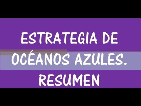ESTRATEGIA OCEANOS AZULES