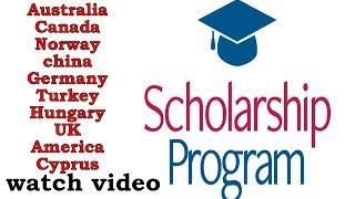 Scholarships from Pakistani student