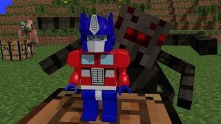 Monster School : Crafting Transformers - Minecraft Animation