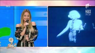 Flavia Mihășan o imită pe Marilyn Monroe! A recreat un moment devenit celebru