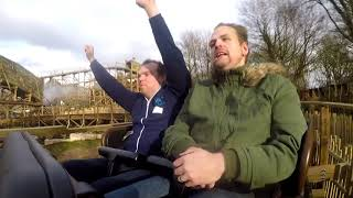Wicker Man On-Ride | Rider-Cam POV | First Rides On The Wicker Man | Alton Towers Resort 2018