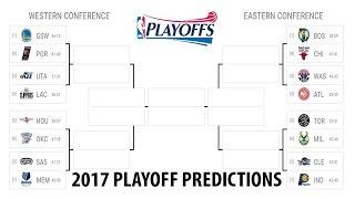 My 2016-2017 NBA Playoff Predictions