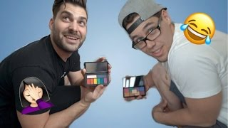 HUSBANDS PICK OUR MAKEUP with DESI PERKINS | LUSTRELUX