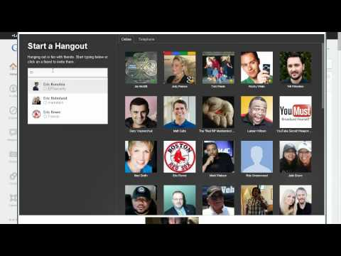 Intro to Google and Hangouts