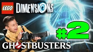 Lego Dimensions GHOSTBUSTERS Story!!! PART 2