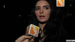 ياسمين الجيلانى والانتهاء من تصوير فيلم قاطع شحن.mp4