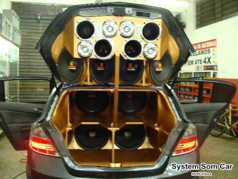 System Som Car e Carro do Lixo