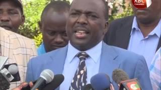 Baringo Governor Cheboi concedea defeat after loosing in Jubilee party primaries