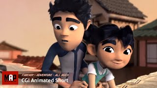 "CGI 3D Animated Short Film ""THE WISHING CRANES"" Cute Animation by Ringling College"