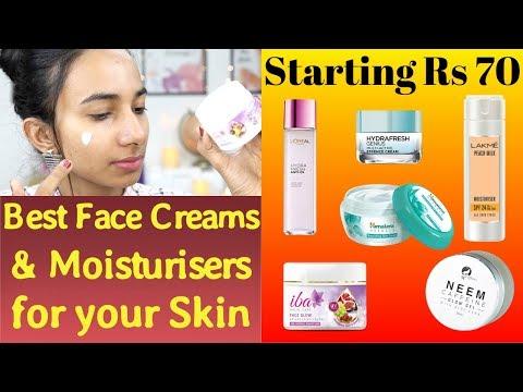स्किन के लिए सबसे अच्छे Face Cream & Moisturiser | Best Moisturiser for Different Skin Types
