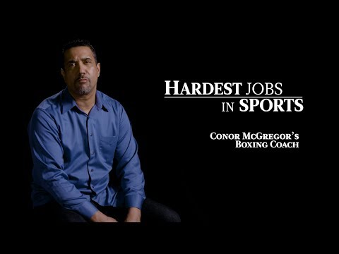 Conor McGregor's Boxing Coach | Hardest Jobs in Sports