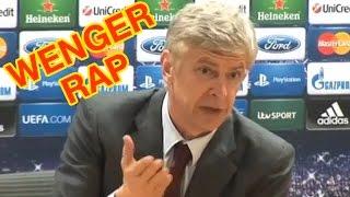 Arsene Wenger Press Conference Rap