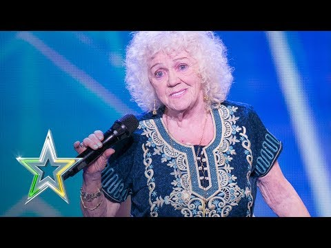 81 year old Evelyn stuns the judges Auditions Week 1 Ireland's Got Talent 2018