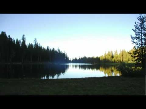 Time Lapse - Sunrise Over Red Lake - California