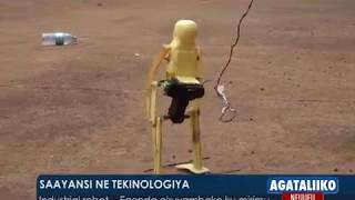 Sayansi ne Tekinologiya: Industrial Robot- Egenda okutuyamba ku mirimu.