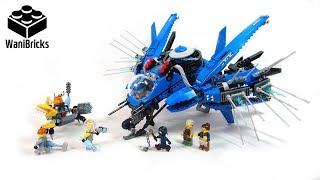 Lego Ninjago Movie 70614 Lightning Jet - Lego Speed Build