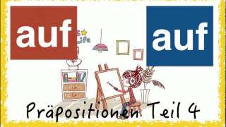 German Prepositions (4) - AUF - simpel & with pics