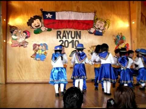 Trote Tarapaqueño Kinder B tía Idania 2010