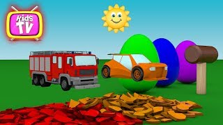 Learn colors with surprise balls cars and toys for kids. - Colours for Children Toddlers