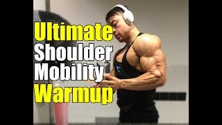 The Best Shoulder Mobility Upper Body Warm Up (Reduce Risk of Injury)