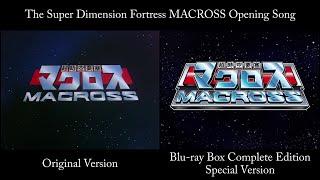 SDF MACROSS OP (Original ver. & BD-BOX Special ver.(pachinko))