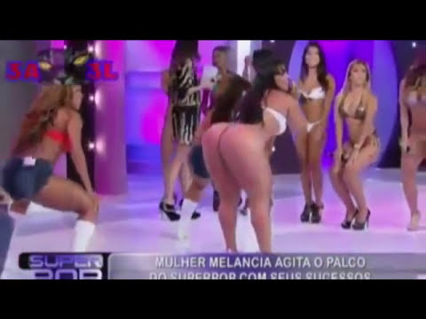 Brazilian women love to show their butts - Brazilian TV Compilation