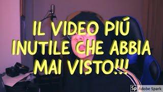 IL VIDEO PIÚ INUTILE CHE ABBIA MAI VISTO!!!(Reaction/Parodia)|| RickyKingTM