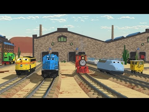 The Number Adventure at the Train Factory with Shawn and Team Full Cartoon