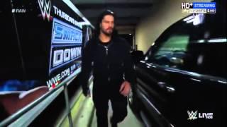 Roman Reigns ATTACKS HHH 2 Weeks Before Wrestlemania WWE Raw 3 21 16