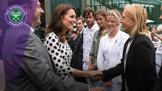 Duchess of Cambridge visits Wimbledon 2017