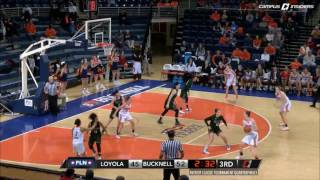 Bucknell WBB - PL Tournament Quarterfinal Highlights