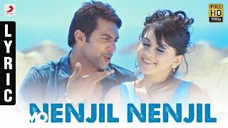 Engeyum Kadhal - Nenjil Nenjil Tamil Lyric | Jayam Ravi, Hansikha | Harris Jayaraj